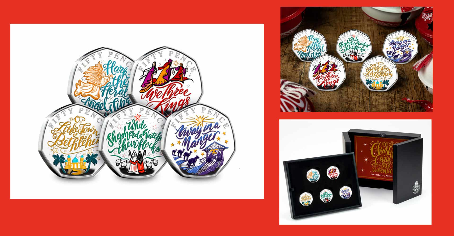 Jo Goodberry – Chritsmas Carol Coins for The Westminster Collection